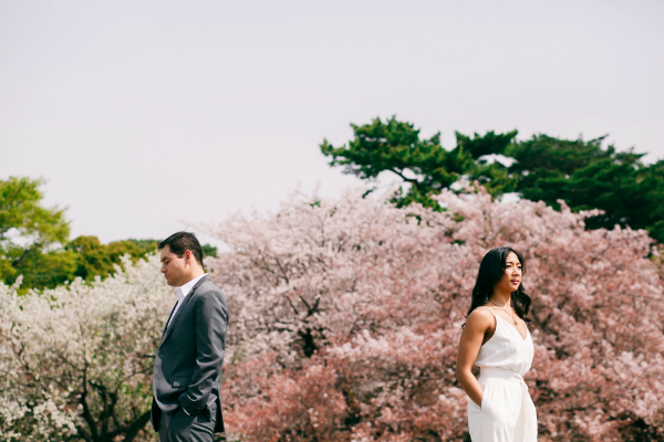 prewedding photo in Japan