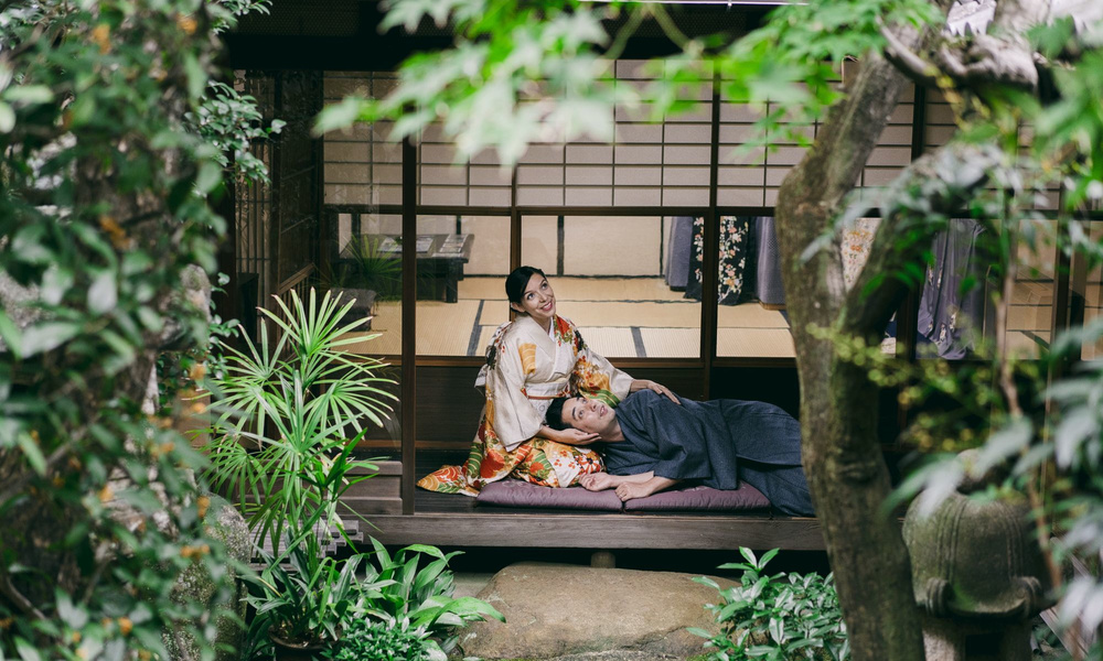Kyoto pre-wedding and engagement photo